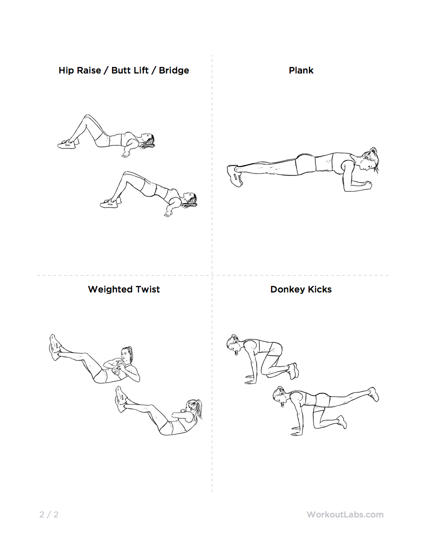 ultimate at home no equipment workout pack for men  u0026 women