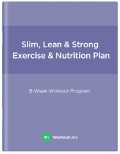 Slim, Lean and Strong: Gym Workout Program & Nutrition Plan