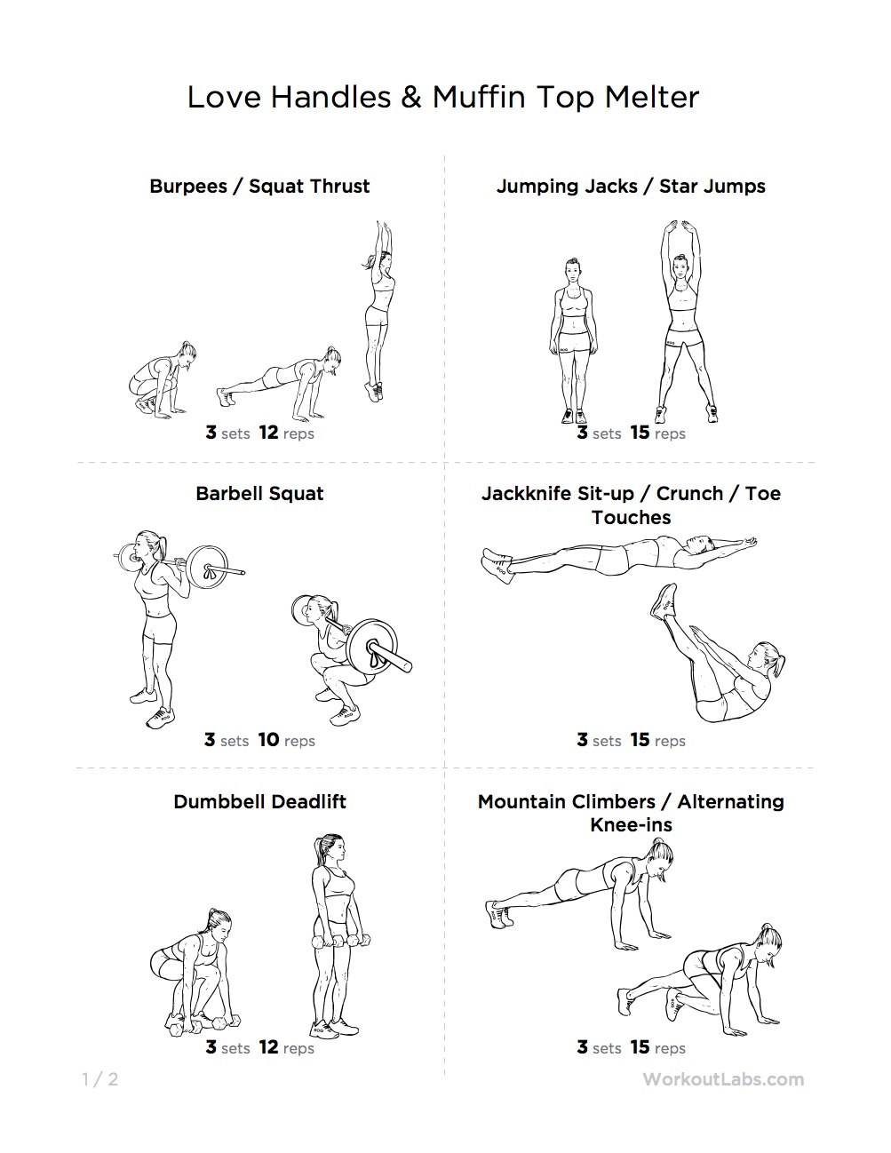 Side Fat Workout Love Handles With Weights