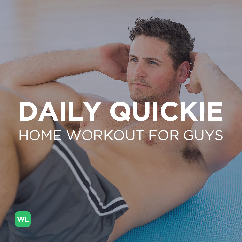 Men S Fitness Workout: Daily Quickie Essential At Home Workout For Guys