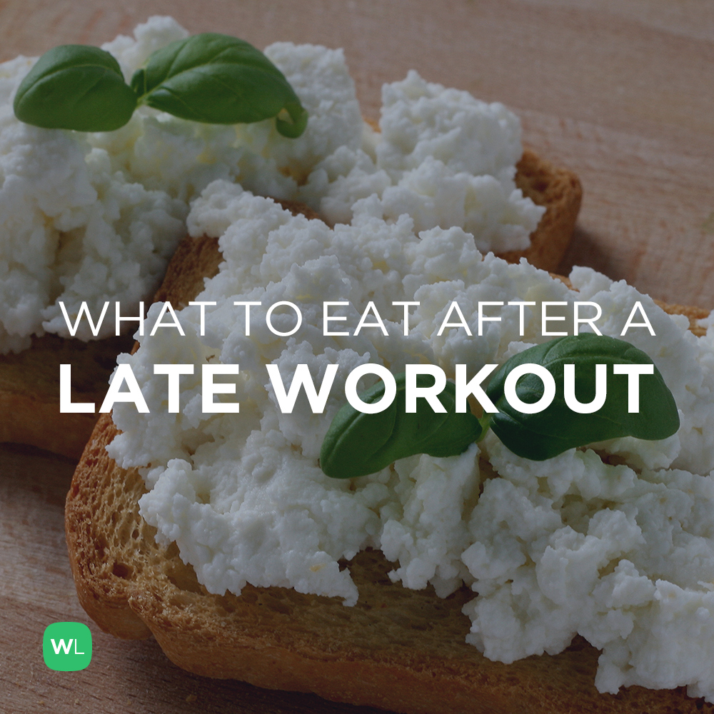 how to eat if you workout at night