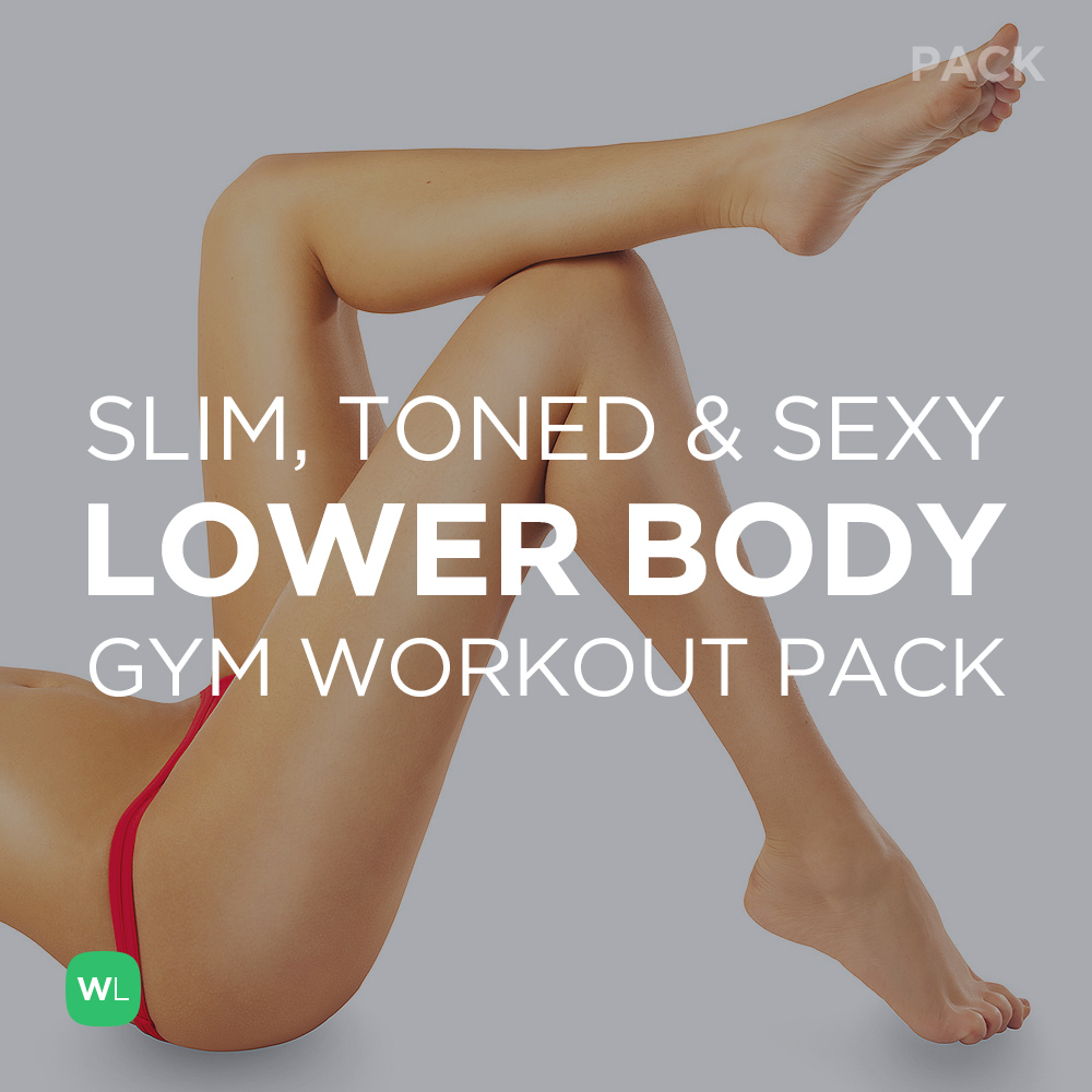 Slim Toned And Y Lower Body Workout Pack For Women