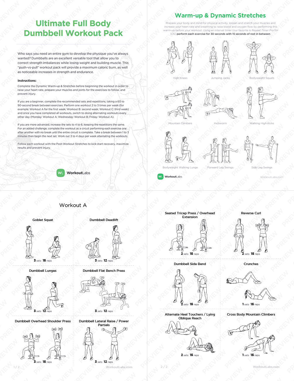 Full Body Mens Workout - Workout