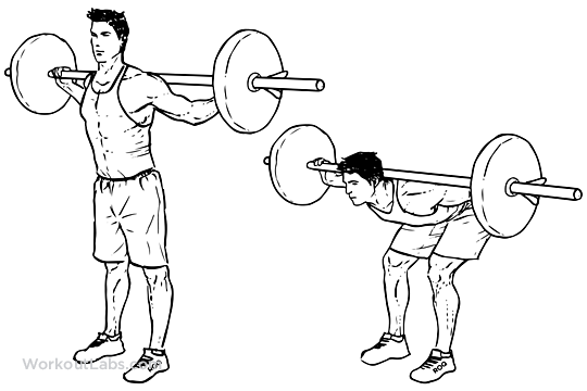 Barbell good morning, common shoulder pain, how to strengthen ...