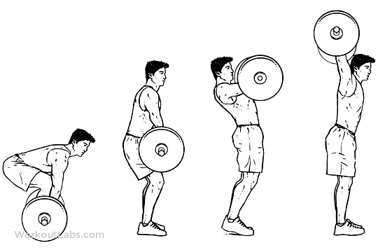 Snatch exercise