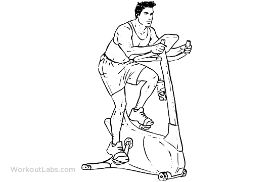 30 Minute Stationary Bike Interval Workout