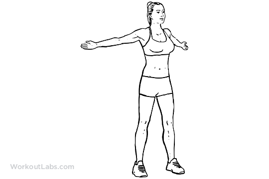 Wide Arm Chest Stretch / Reverse Butterfly Stretch ...