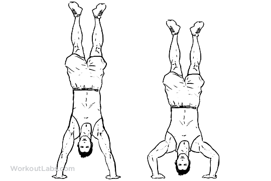 handstand push  pushups