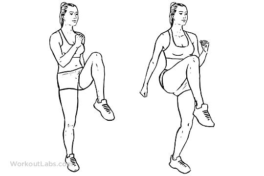 Afbeeldingsresultaat voor high knees