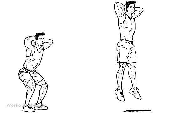 Image result for squat jumps
