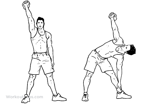 Kettlebell Windmill | Illustrated Exercise guide - WorkoutLabs