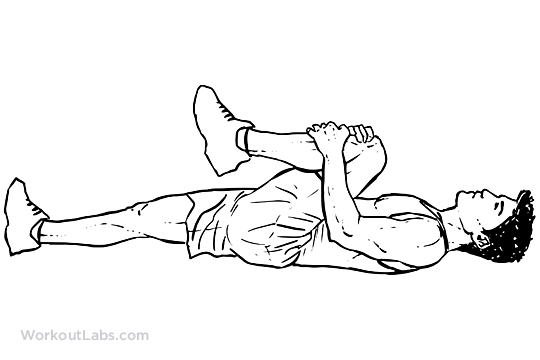 Knee To Chest Lower Back Stretch Workoutlabs