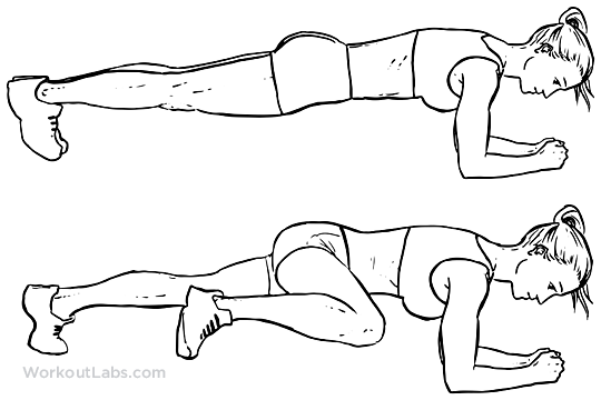 Plank Knee To Elbow