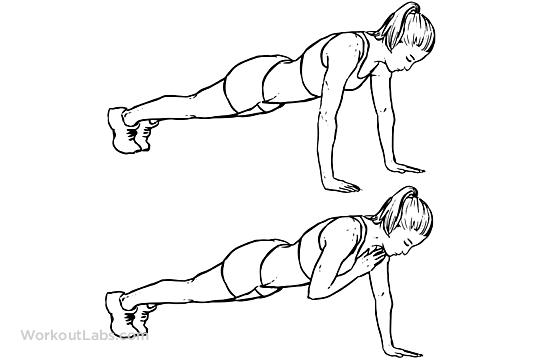 plank shoulder taps    planks