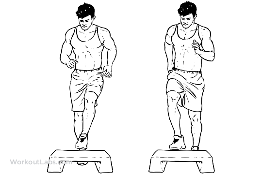 Toe Taps Illustrated Exercise Guide Workoutlabs