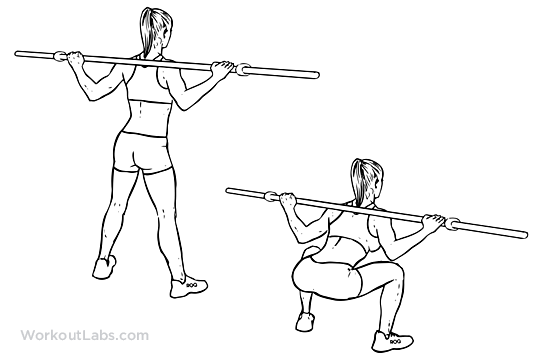 Barbell sumo squats wide stance sumo barbell