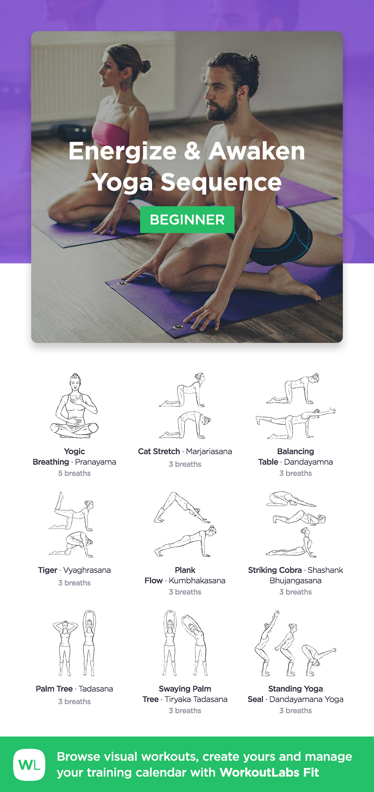 Dynamic Warm Up Yoga Sequence 183 Workoutlabs Fit