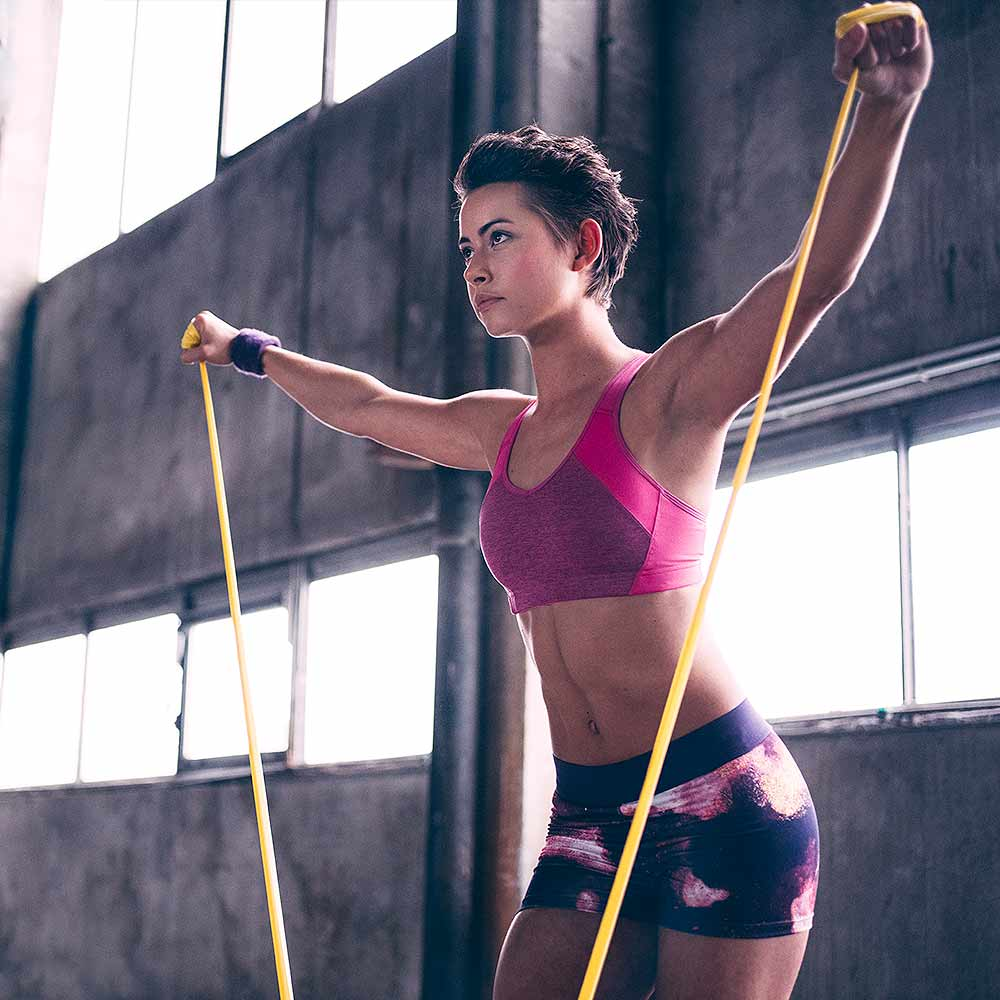 Vive la Resistance! Resistance Band Workout Plan