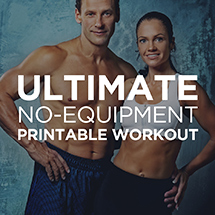 free printable workouts  simple illustrated exercise programs