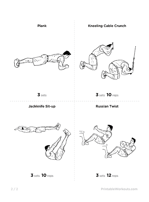 Great Six Pack Abs Abdominal Workout2 At Home Workout Plans Without Equipment 14 On