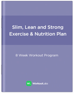 Slim, Lean and Strong: Gym Exercise & Nutrition Plan for Women & Men