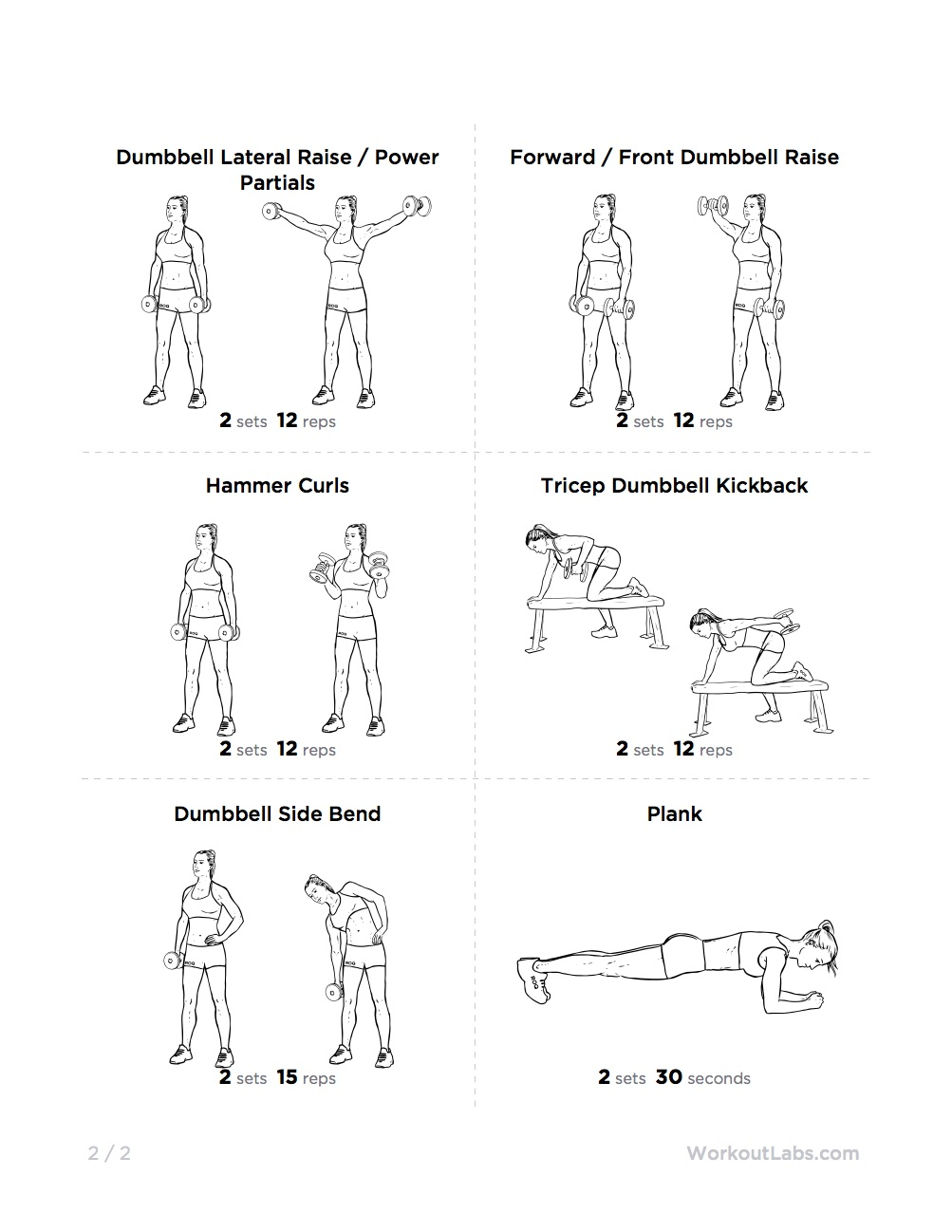 full body dumbbell workout routine at home
