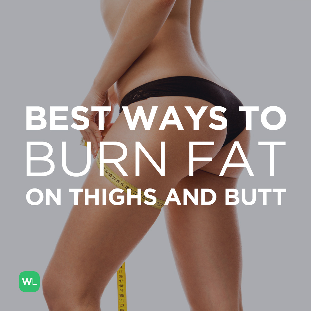 how to burn ass fat