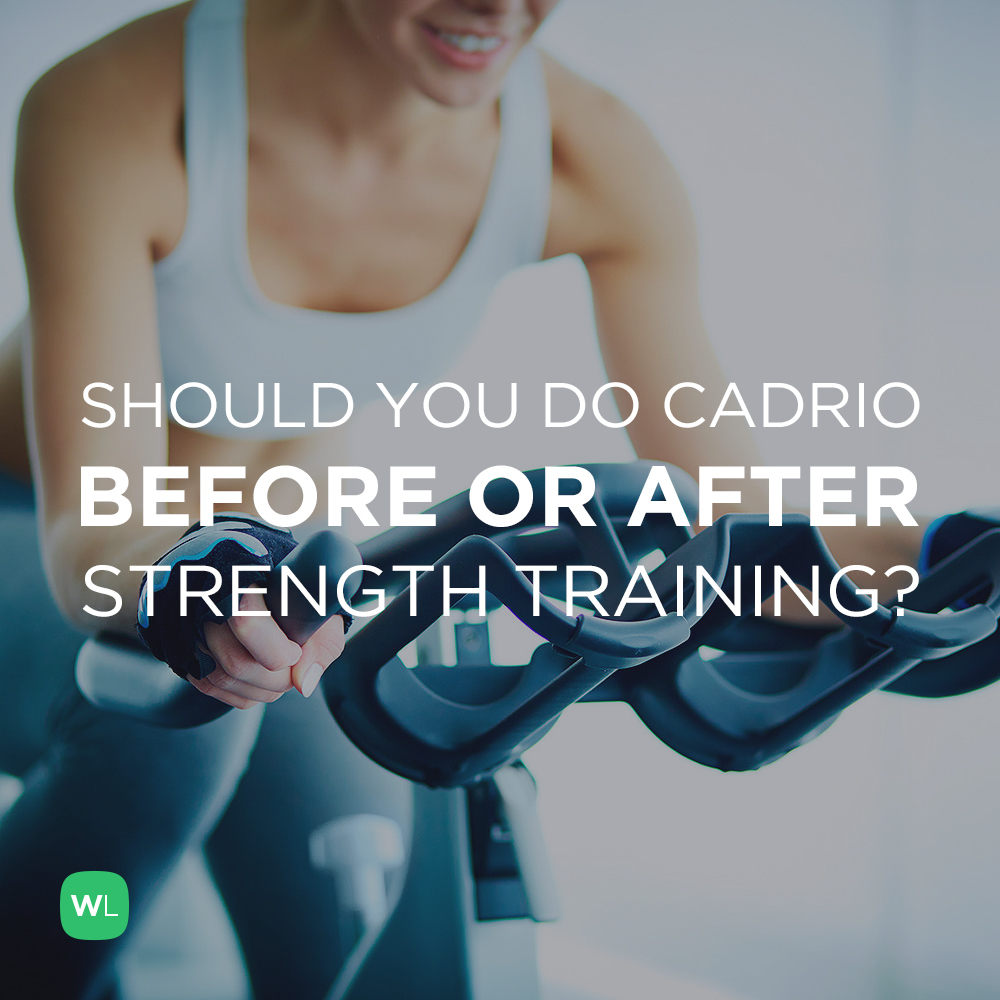 Is it better to do cardio before or after strength training? Visit https://wlabs.me/1rmFW8o to find out!