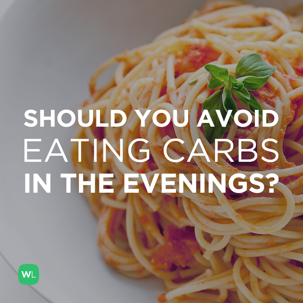 Should I avoid eating carbs late at night to lose weight? Visit https://wlabs.me/1wMBAcm to find out!
