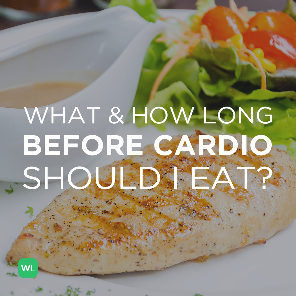 What and how long before a cardio workout should I eat and drink? Visit https://wlabs.me/1rfCQFF to find out!