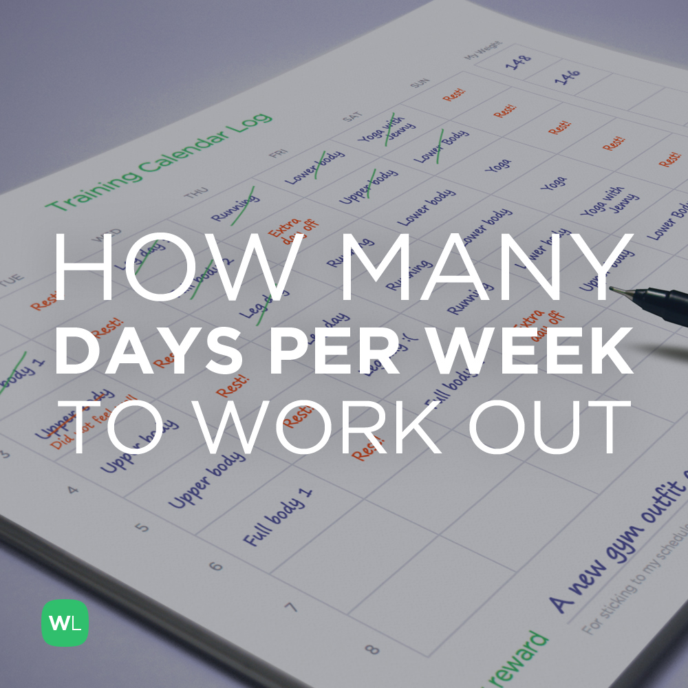 How many days per week should I work out? Visit https://wlabs.me/1vg3qQf to find out!