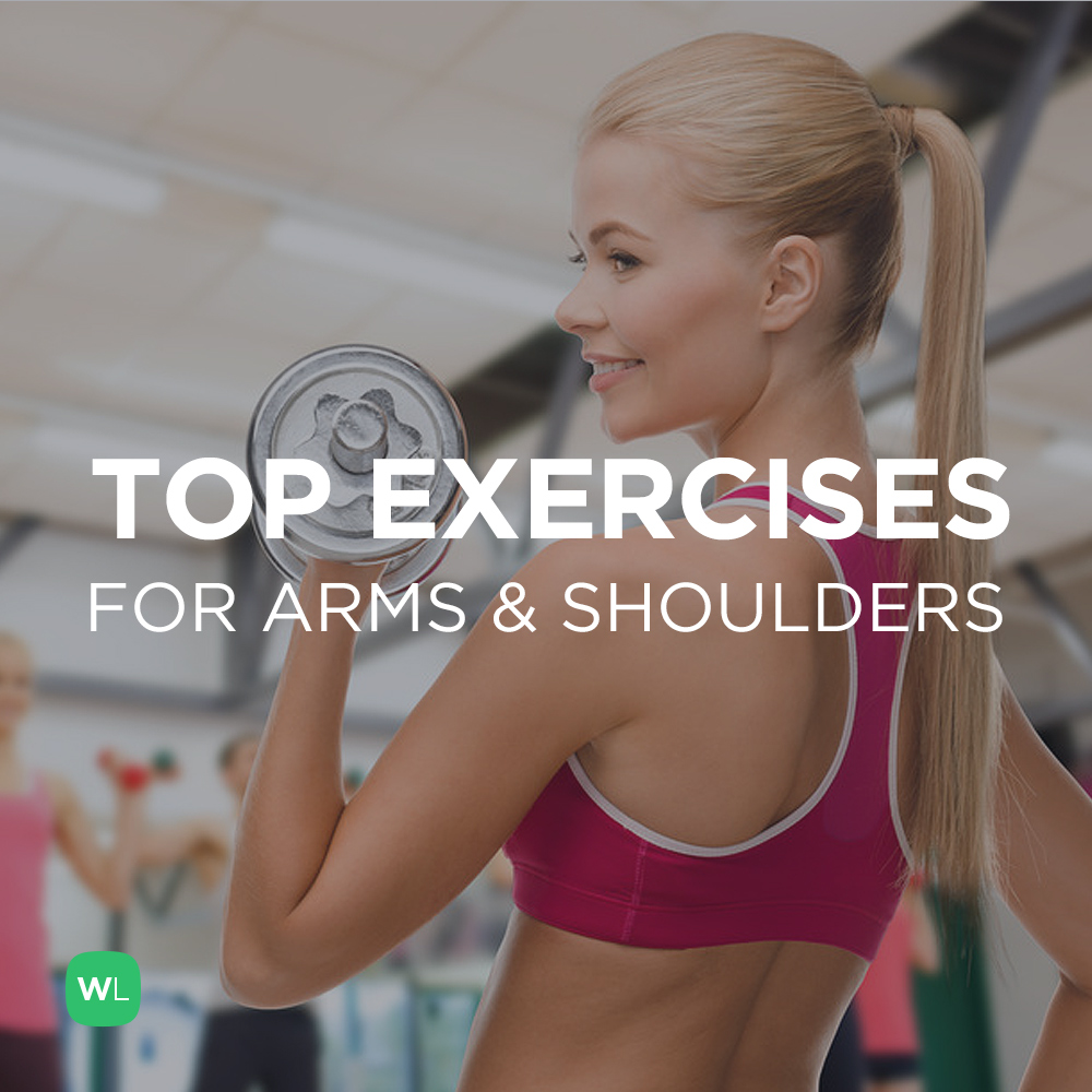 What are the top exercises for toned and muscular arms and shoulders? Visit https://wlabs.me/1v4In1O to find out!