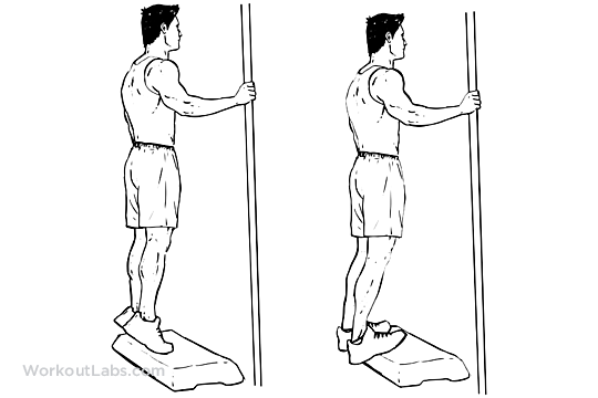 Bodyweight Calf Raises | WorkoutLabs