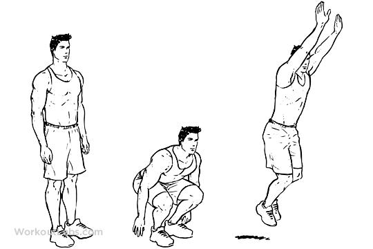 Frog Jumps | WorkoutLabs