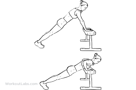 Incline Push Ups Pushups Workoutlabs