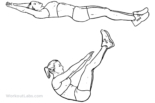 Core Workout Climber