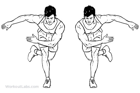 Side / Lateral Suffles / Hops / Skaters | WorkoutLabs