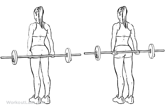Behind-the-Back Standing Bicep Curls